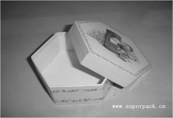 结构点评:传统盒形,外形变化为正六边形.