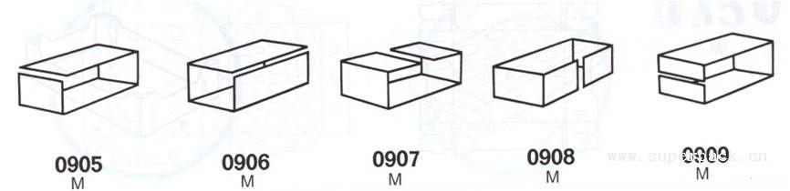 下图所示的纸箱结构式样